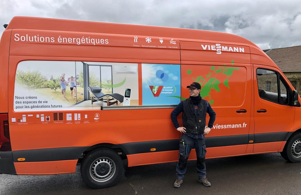 Camionnette Viessmann